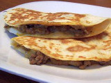 Beef & Cheese Quesadilla