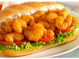 Shrimp Po' Boy Sandwich